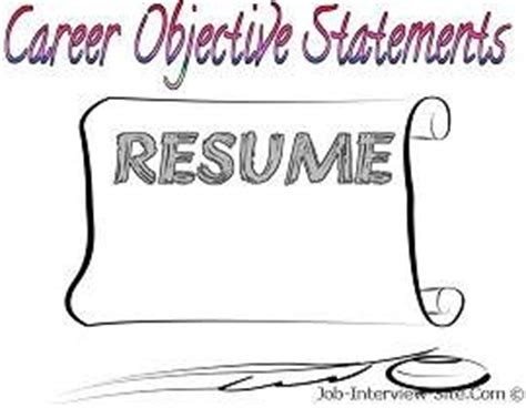 Summary statement for resume